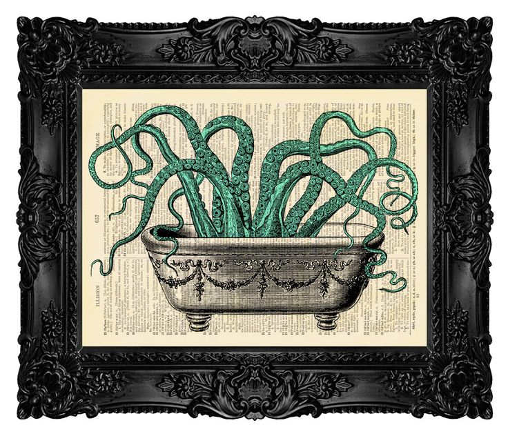 BATHROOM DECOR Octopus Wall Decal Octopus Wall Art Octopus Decor Funny Bathroom Art Print Bathroom Wall Decor Home Decor Wall Hanging 126 by MadameBricolagePrint on Etsy https://www.etsy.com/listing/111850381/bathroom-decor-octopus-wall-decal
