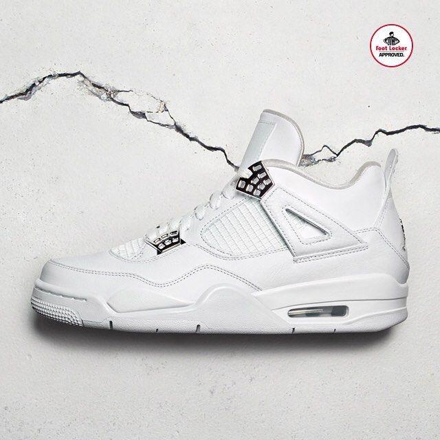 "Foot Locker (@footlocker) on Instagram: ""The Air #Jordan 4 Retro 'Pure Money' arrives in stores and online Saturday.  Release Details:…"""