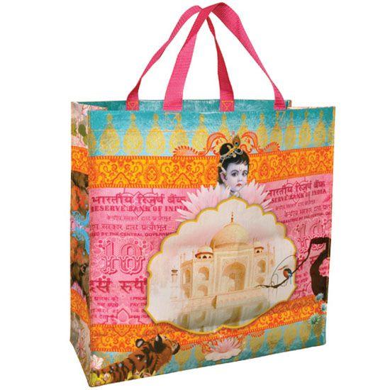 Kitsch.fi - Laukku Kierrätysmateriaalia India 19,30,-