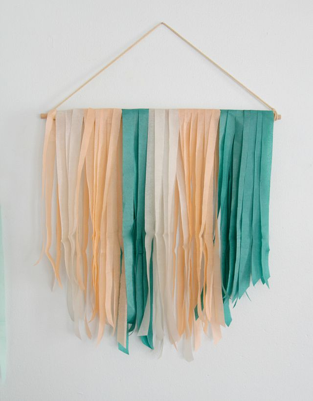7 DIYs For The Weekend: 7 DIYs For The Weekend: DIY Tissue Paper Banner