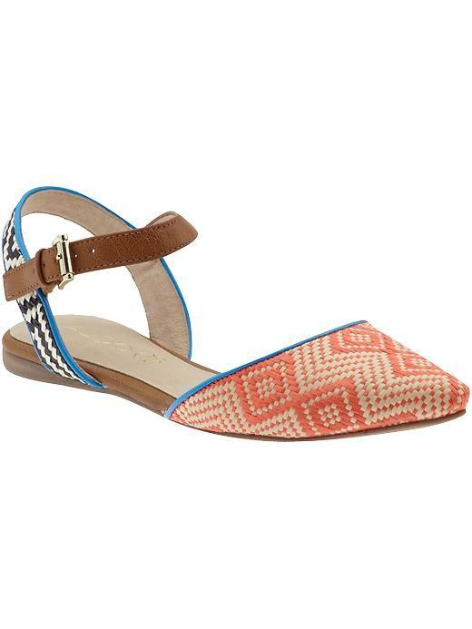 patterned sandal