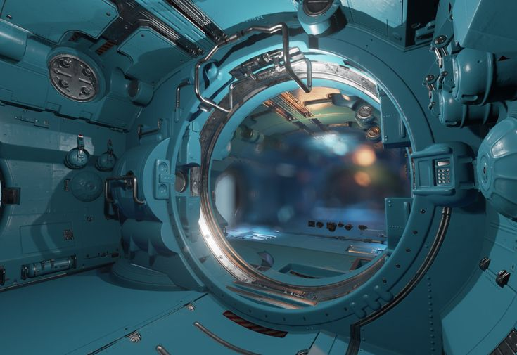 Space station (UE4) - Page 6 - Polycount Forum