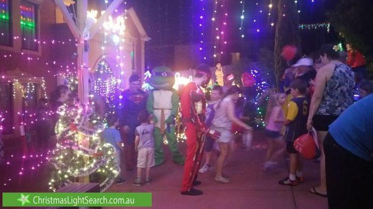 Christmas Lights in Greenwith, SA.http://xmaslights.co/greenwith1