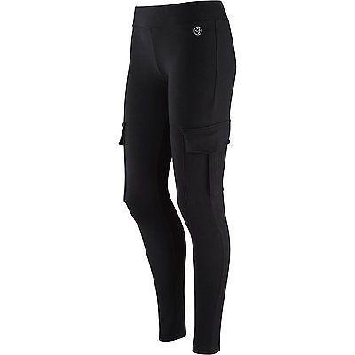 Small, Sew Black, Zumba Fitness Damen Leggings SHAKE-N-Break Cargo
