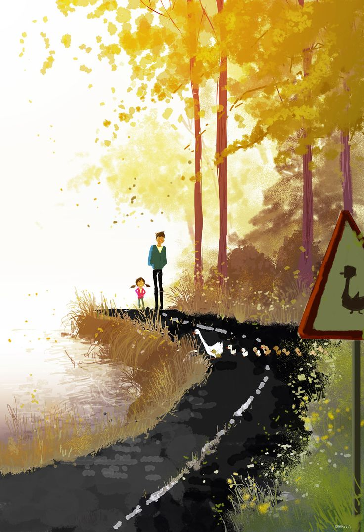 Bird Crossing by Pascal Campion