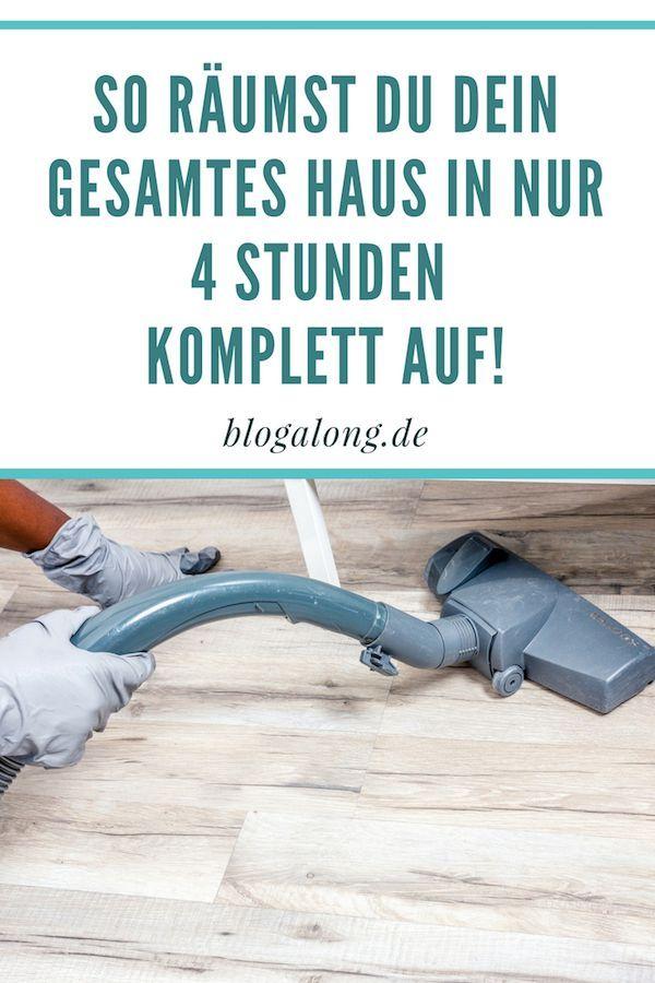 Gewusst wie: So schnell kannst du dein Haus aufräumen ...