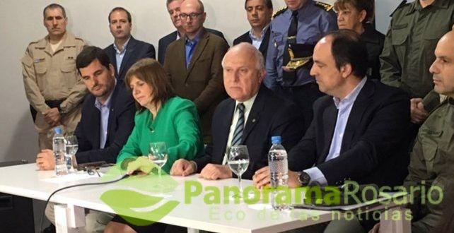 """Bullrich dijo que """"ya se desplegaron fuerzas federales en once ciudades de Santa Fe"""" – Panorama Rosario"""