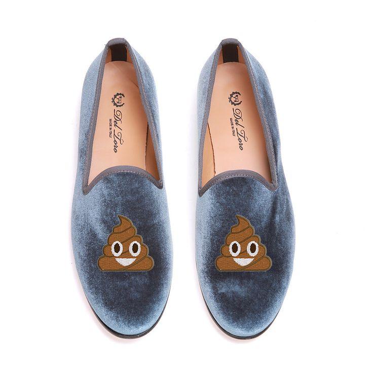 Del Toro For Moda Operandi Emoji Smoking Slippers, $340.