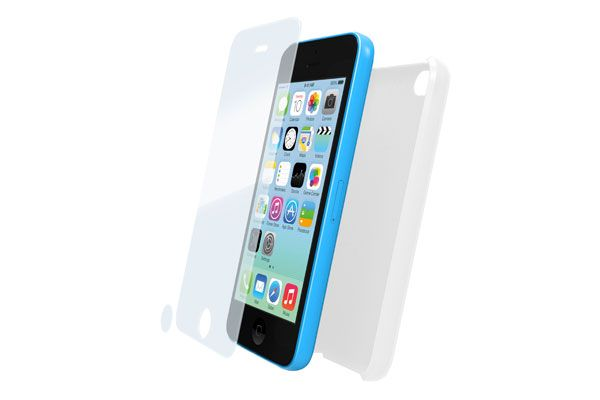 booq | Glass+Case for iPhone 5C, clear
