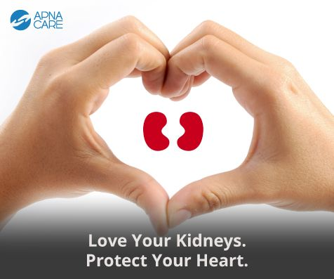 Love Your Kidneys. Protect Your Heart. On World Kidney Day, read our blog to learn about the link between the health of your kidneys and your heart. Pick up 8 easy tips on how to take care of them both. http://apnacare.in/world-kidney-day/ #WKDChat #WorldKidneyDay #ApnaCare #ElderCare #ElderlyCare #HeartDisease