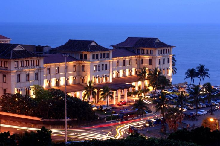 The revamped historic Galle Face Hotel, Colombo, Sri Lanka. I love a hotel with a history.