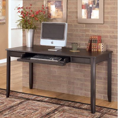 signature design by ashley carlyle large computer desk