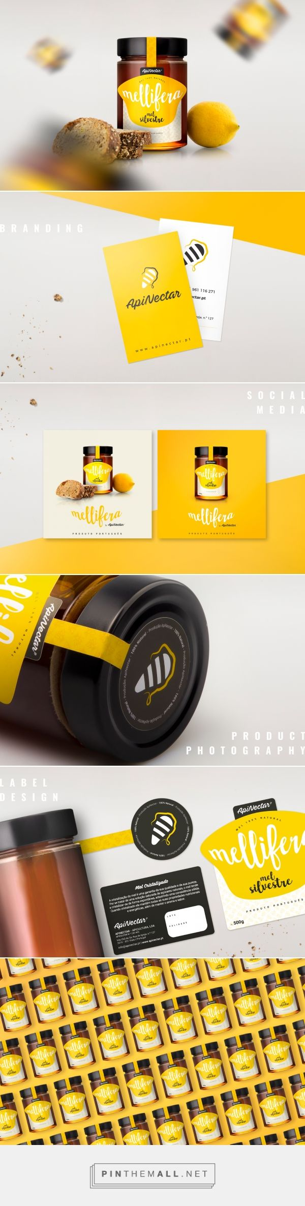 Mellifera by Apinectar - Packaging of the World - Creative Package Design Gallery - http://www.packagingoftheworld.com/2017/06/mellifera-by-apinectar.html