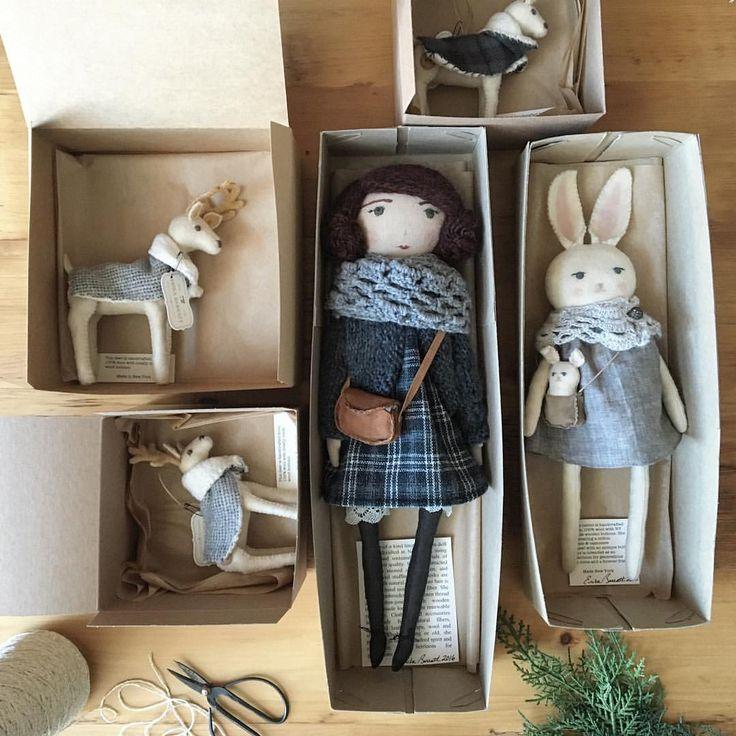 "Kids toys / heirloom dolls Erika Barratt (@erika_barratt) auf Instagram: ""safe travels, friends"""