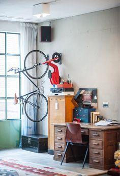 17 best ideas about garage velo on pinterest garage a. Black Bedroom Furniture Sets. Home Design Ideas