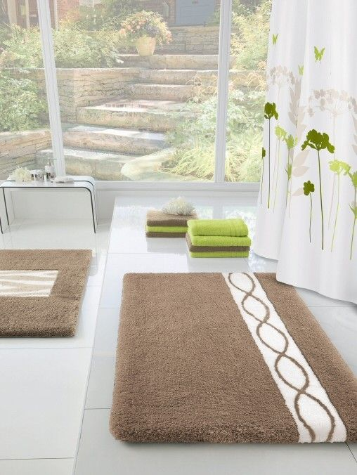 Best Large Bathroom Rugs Images On Pinterest Large Bathroom - Designer bath rugs for bathroom decorating ideas
