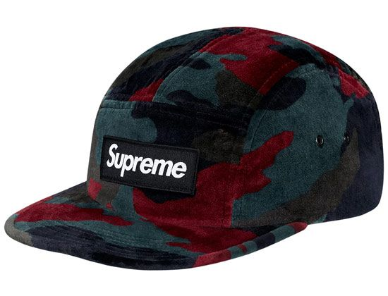 Velvet Camo 5 Panel Camp Cap By Supreme 5 Panel Camp