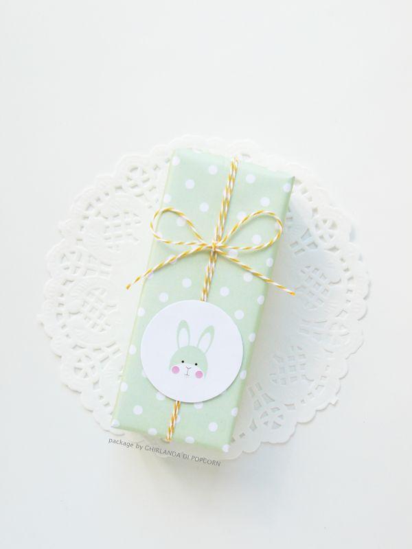 Le charmant emballage cadeau de Pâques à imprimer - Le Blog Magazine de Georges - AlloCadeau.com