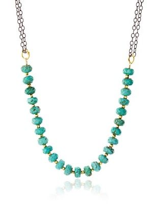 70% OFF Robindira Unsworth Turquoise Collar Necklace