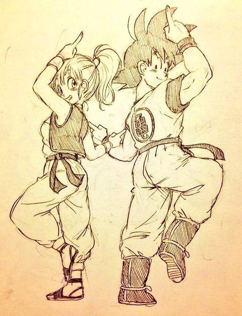 Bulma & Goku