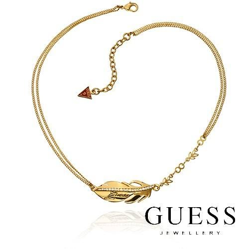 How about this Gold Feather GUESS necklace with its curvaceous feathers and sparkling crystal? We think you'll love the feeling as these feathers swing as you strut your stuff! We could say it'd make a good Christmas present – but will you really want to give it away? http://www.sparkly.com.au/brands/guess-jewellery/gold-feather-guess-necklace.html