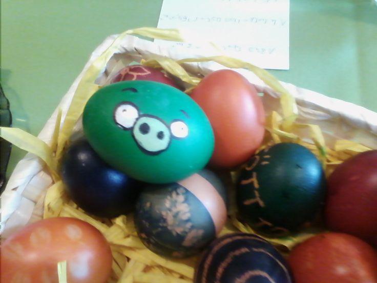 Angry birds hímes tojás