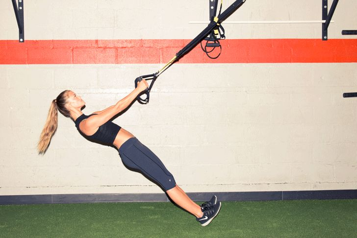 This TRX Row combines all our favorite things. http://www.thecoveteur.com/nina-agdal-workout/