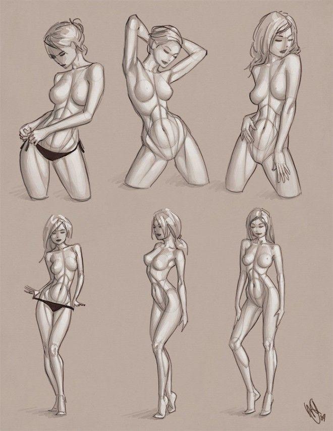 Anatomy study   woman body. Daily Graphics Inspiration 529. Read full post: http://webneel.com/daily/graphics/inspiration/529   Daily Inspiration http://webneel.com/daily   Design Inspiration http://webneel.com   Follow us www.pinterest.com/webneel                                                                                                                                                     Más