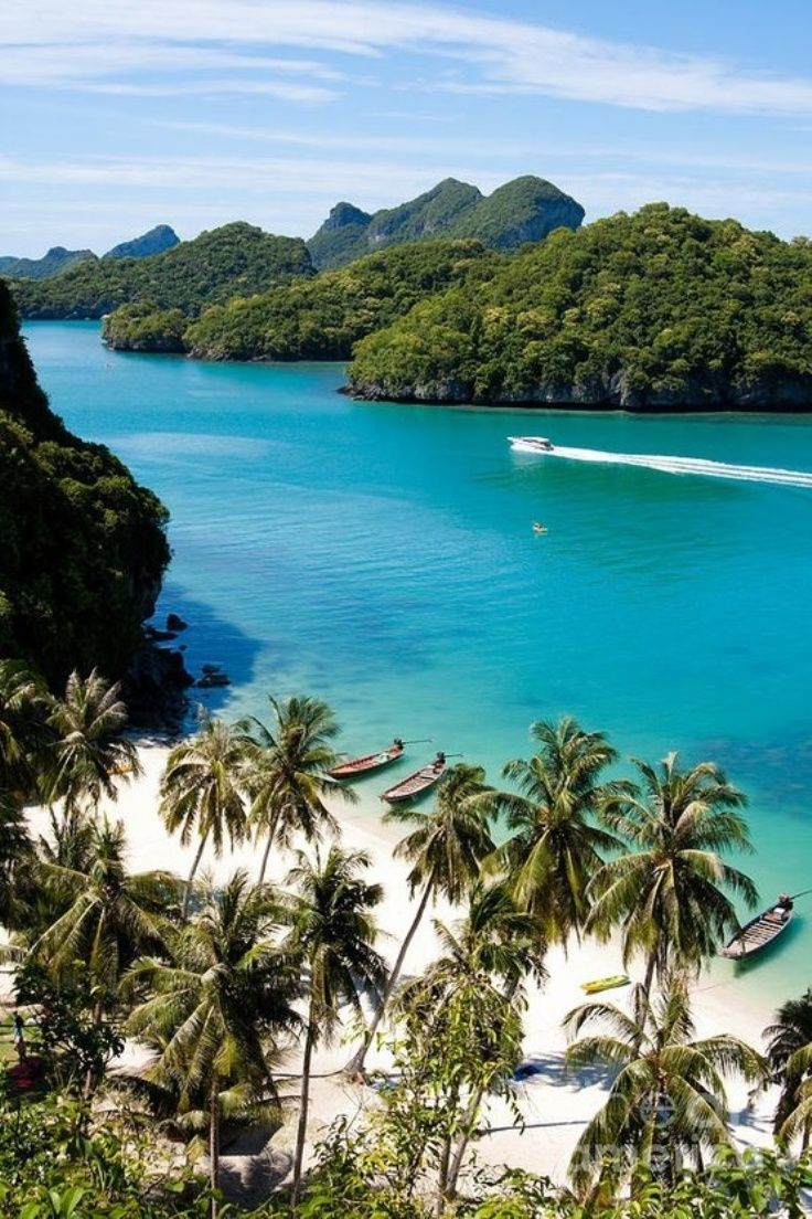 thailand islands: one of the top 10 world's cheapest exotic travel destinations. http://www.topinspired.com/top-10-cheapest-exotic-travel-destinations-in-the-world/: