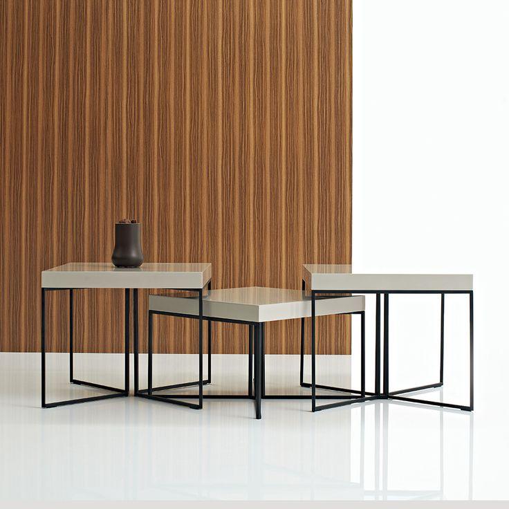 Argo Furniture Luna Three Piece Coffee Table Set
