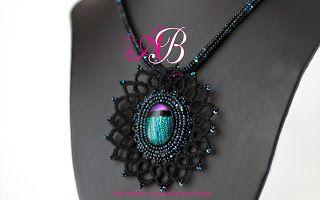 Agape Bijoux Creations: Nuovo mese nuova creazione! Collana Black Unicorn ...