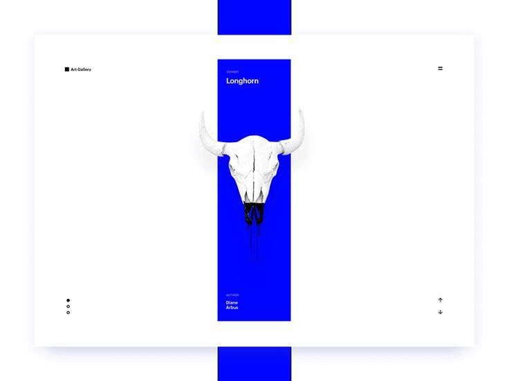 Art Gallery Concept  by Mario Šimić #Design Popular #Dribbble #shots