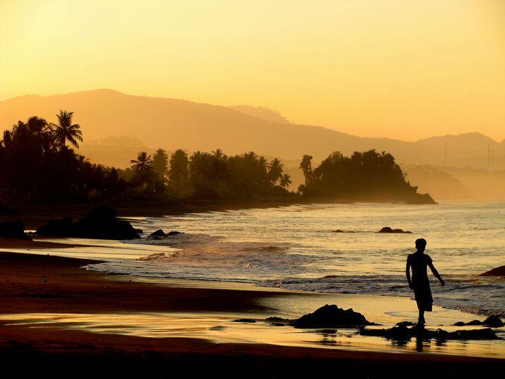 morning in cibangban beach, pelabuhan ratu