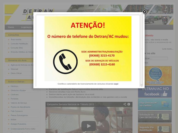 www.detran.ac.gov.br Entrar Agora - Pergunte Tecnologia