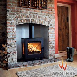 Westfire Uniq 23 6kw Defra Approved Stove With Side Glass