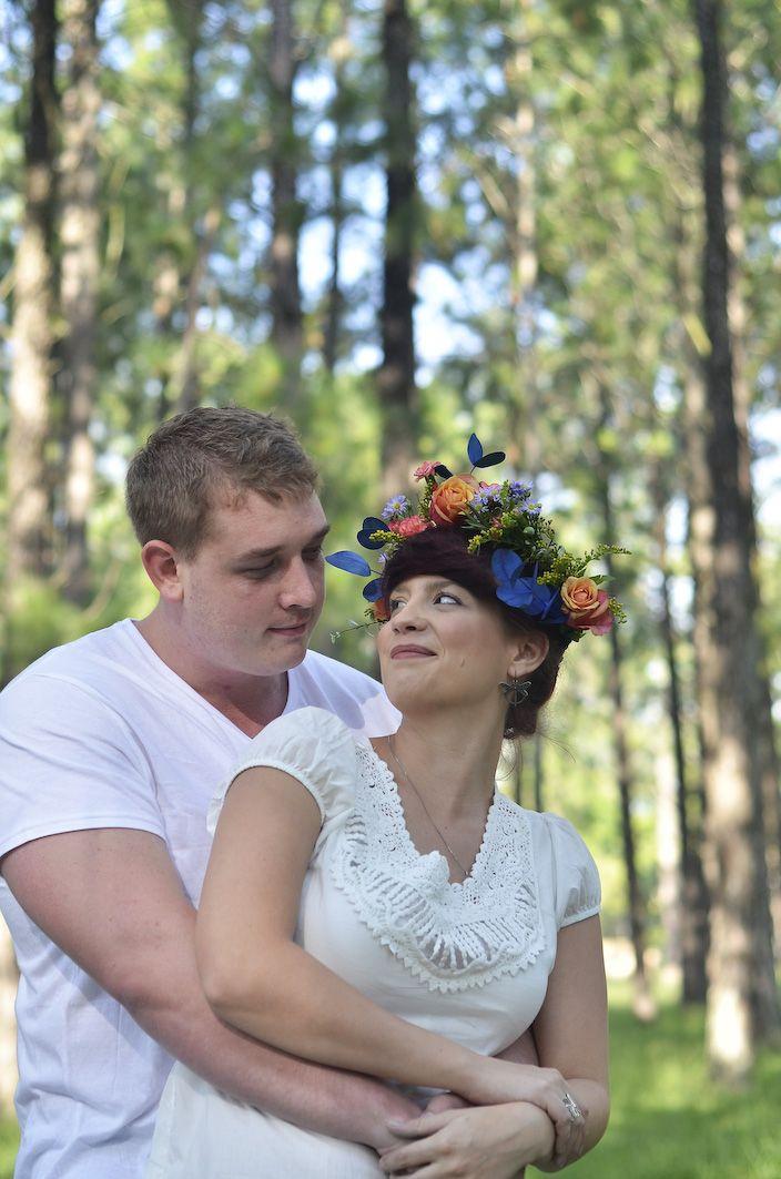 Jani & Guillaume Engagement shoot - Holi powder,