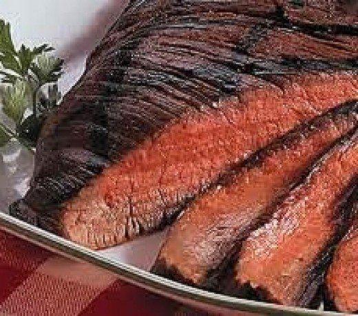 Cooking meat so that it is pink inside helps to ensure it is tender