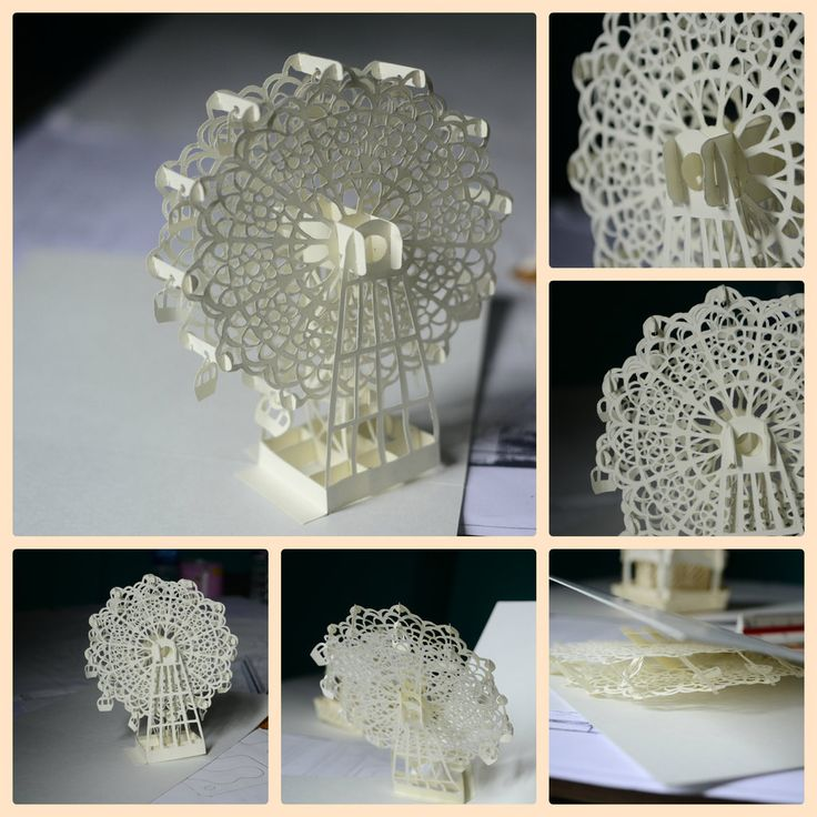 24 best images about kirigami on pinterest architecture for Kirigami paper art