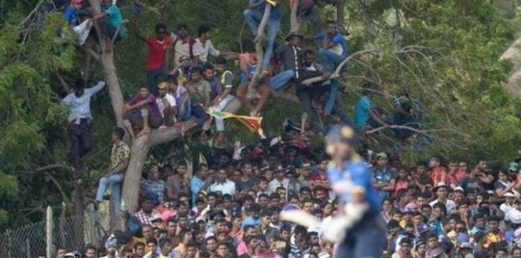Κρίκετ: 45.000 θεατές σε γήπεδο χωρητικότητας 18.000!!! Δείτε ΦΩΤΟ