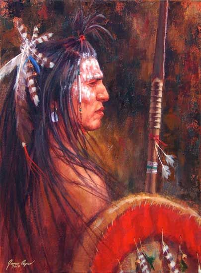 Guardian Of His People | Crow | James Ayers studios 2013