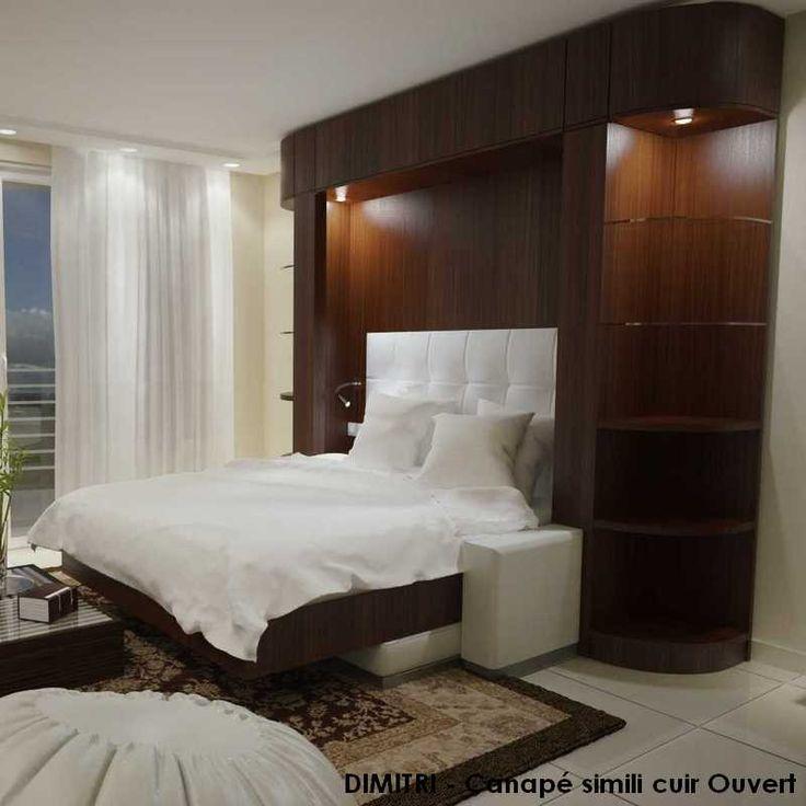 65 best lits escamotables sur mesure images on pinterest. Black Bedroom Furniture Sets. Home Design Ideas