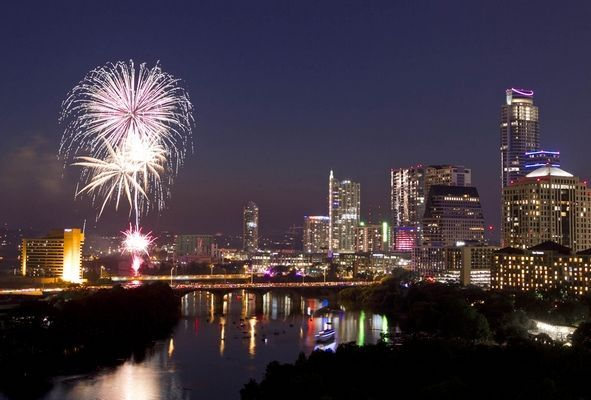 july 4th fireworks austin tx 2015