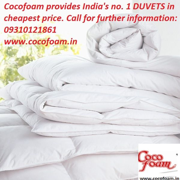 Cocofoam Provides India S No 1 Duvets In Est Price Call For Further Information