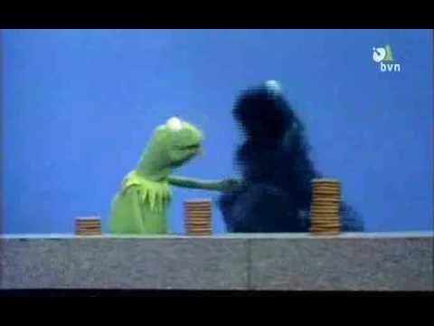Sesamstraat - Kermit - Een paar, meer, de meeste