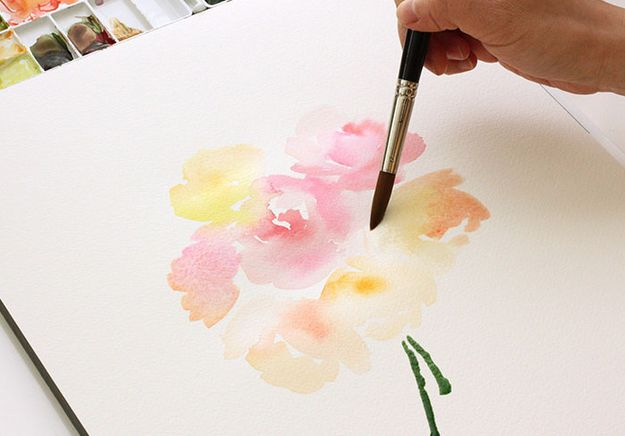 watercolor blending tutorial