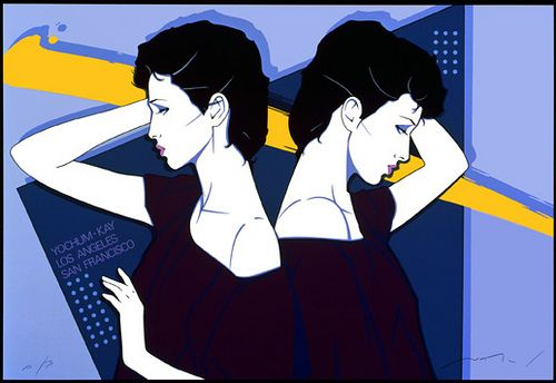patrick nagel - I had this one in my home for years