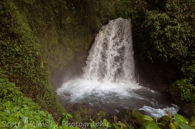 Waterfall near Arenal Volcano