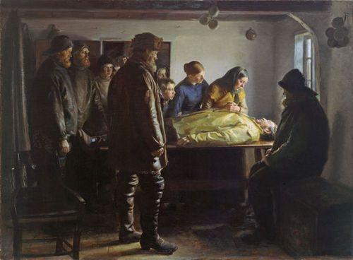 Michael Anker   Den druknede at Skagen Museum, Denmark