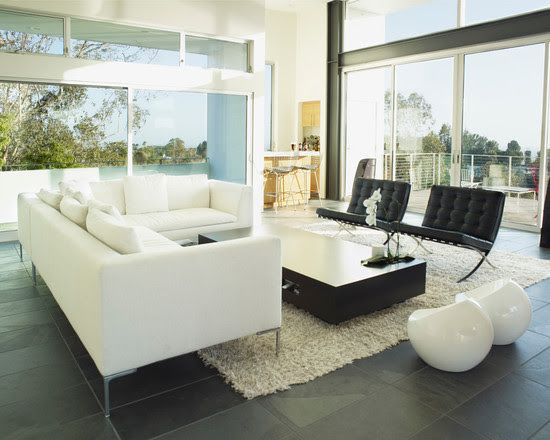 Barcelona Chair Https://emfurn.com · Modern Living Room ... Home Design Ideas