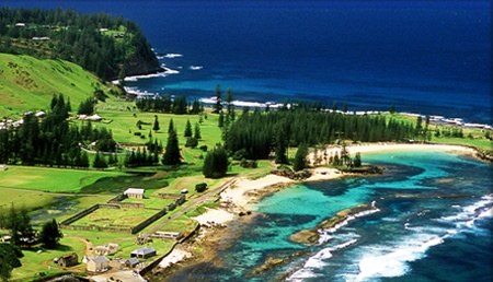 NORFOLK ISLAND, AUSTRALIA.   Magical place. Cows are EVERYWHERE! :)